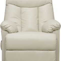 Seat Lift Chair Layout Design Electric Recliner Cream Leather Power Motion