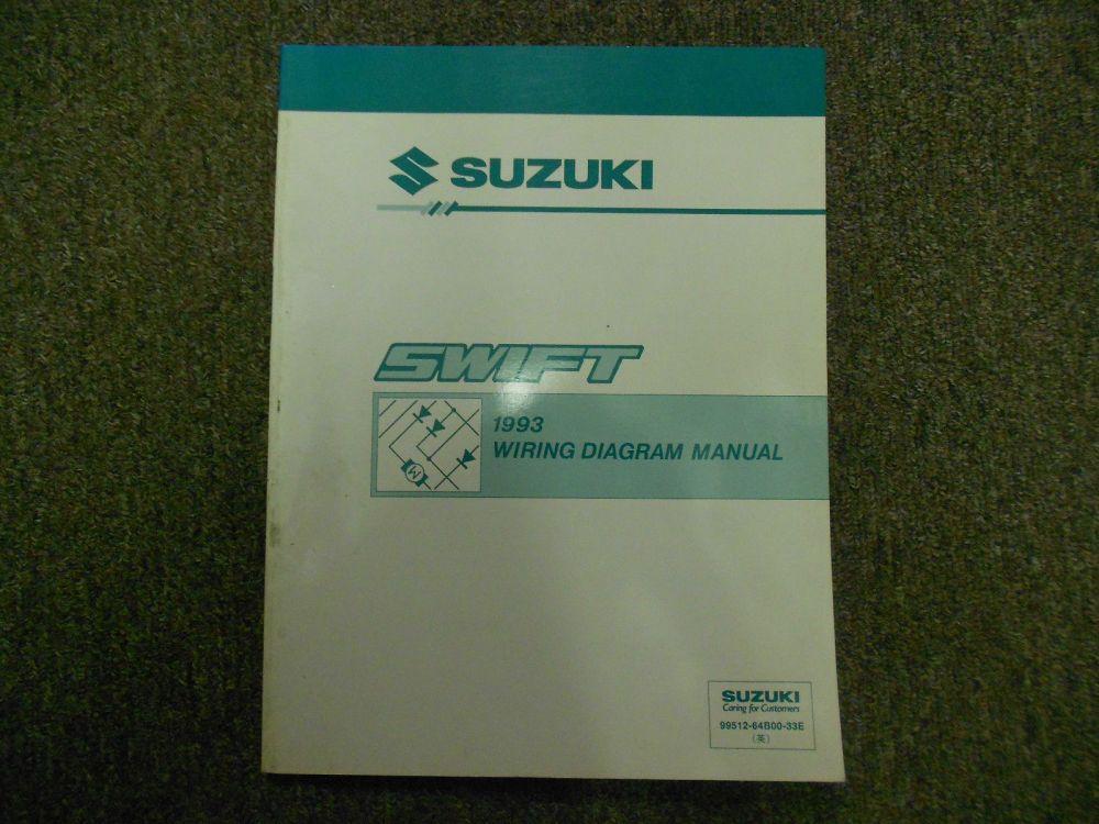 medium resolution of 1993 suzuki swift electrical wiring diagram and 50 similar items s l1600