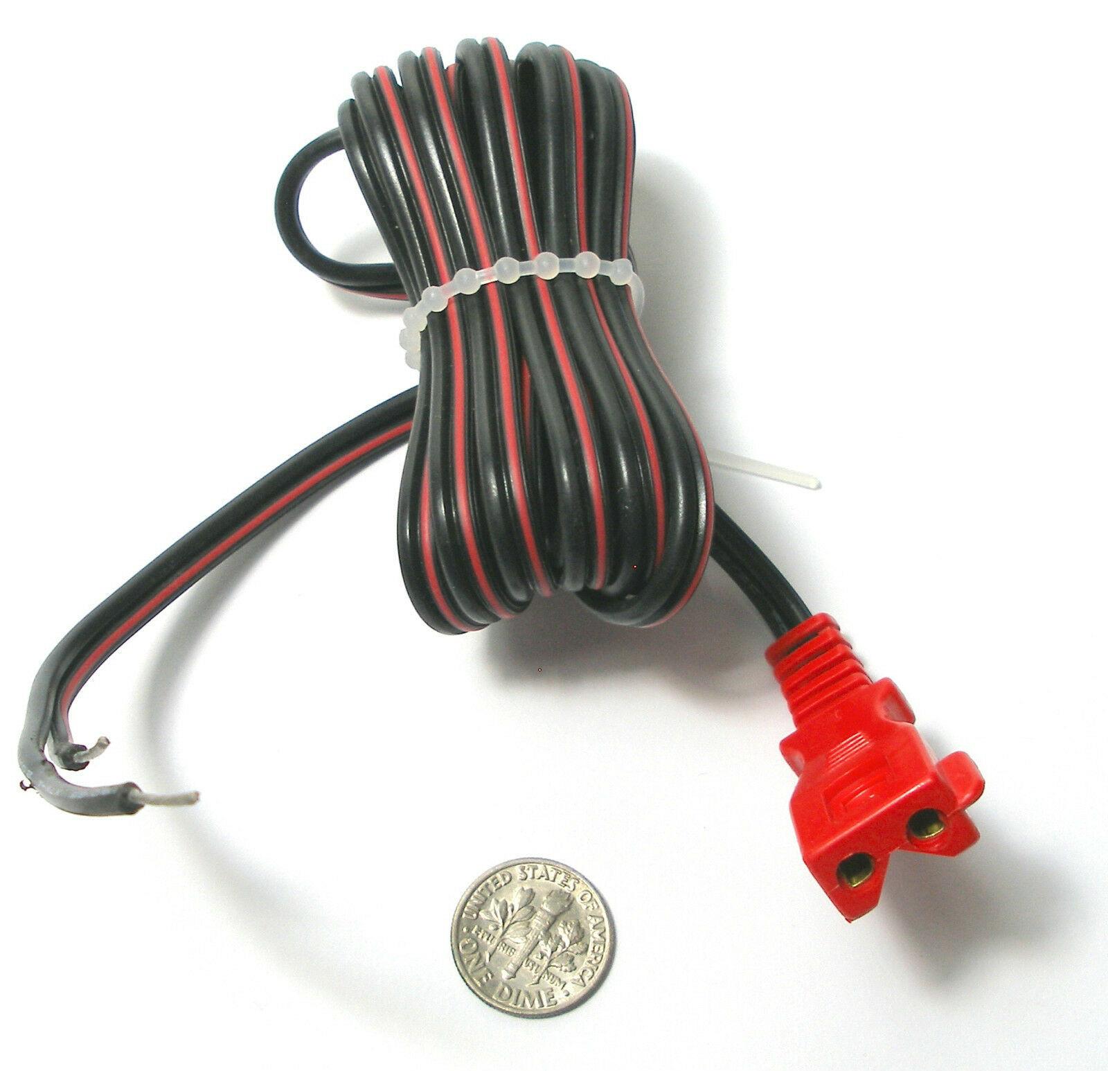 hight resolution of 6 vintage tyco ho slot car track transformer heavyduty power pig tail plug lead 6 92