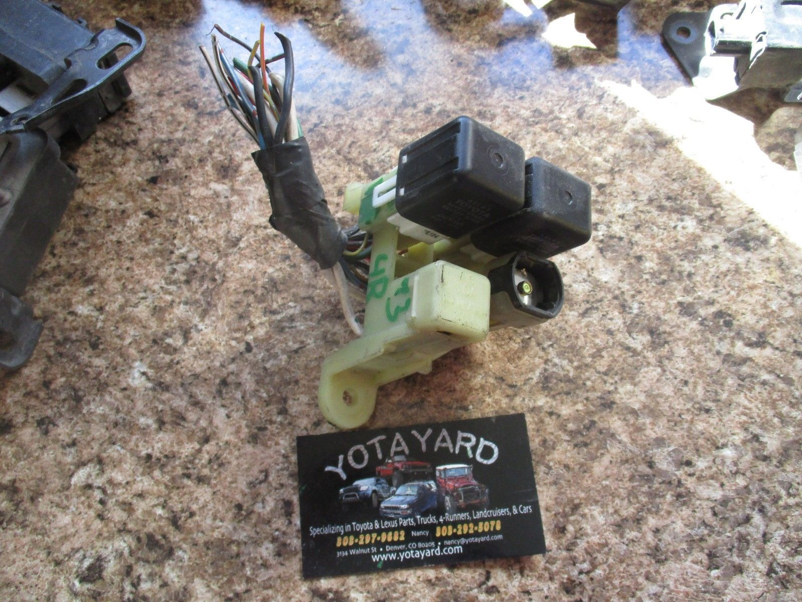 hight resolution of toyota 4runner relay strip fuse box and 50 similar items s l1600
