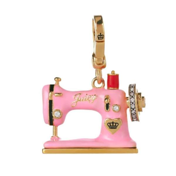 Sewing Machine Charm Juicy Couture