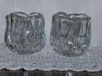 Tulip 24% Lead Crystal Votive Cup Tea Light Votive Glass ...