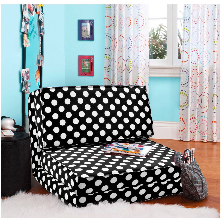 chair for teenage bedroom cheap tennis balls chairs foam flip bed teens lounger dorm