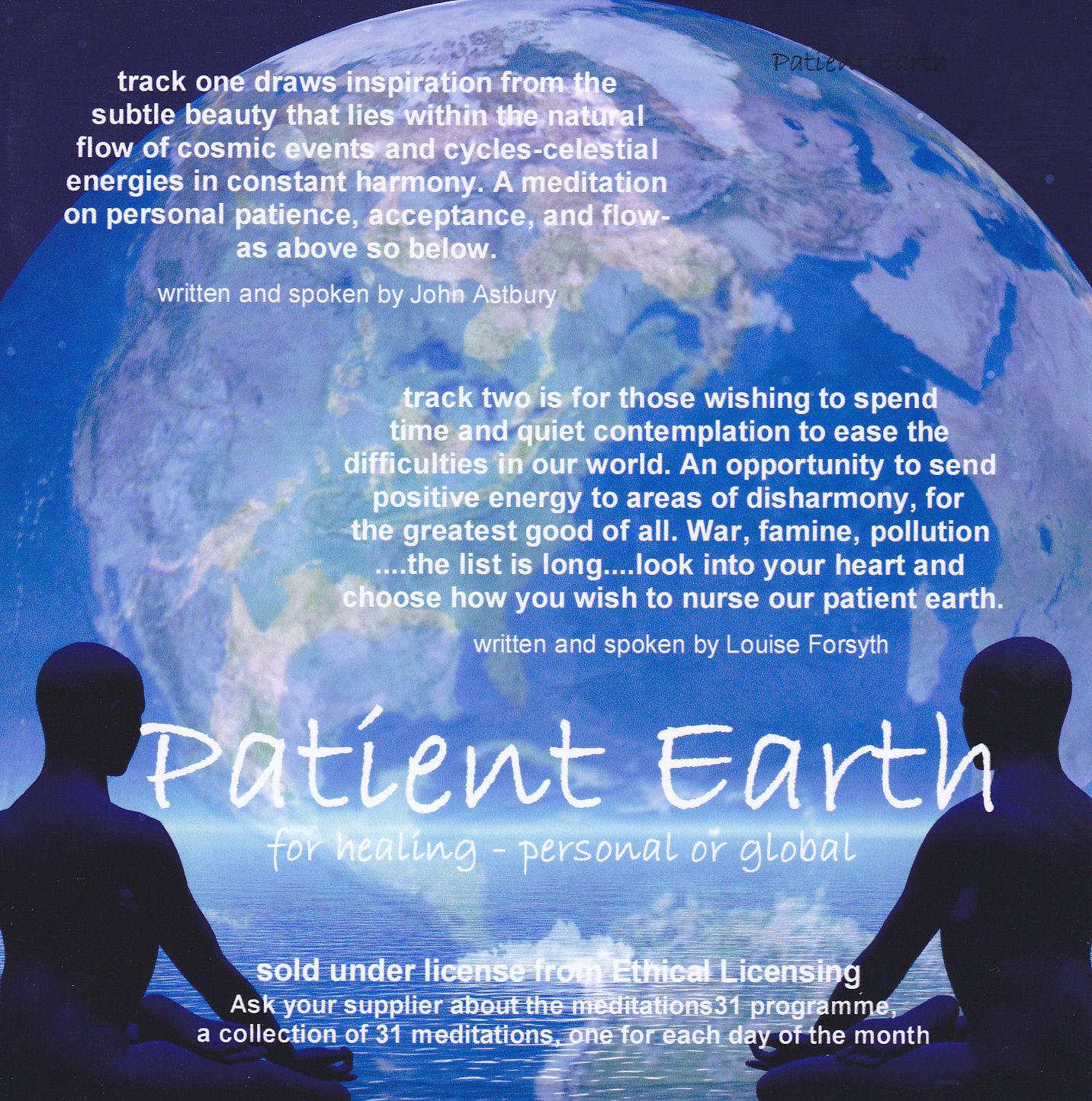 Mind Body Spirit Meditation Audio Cd Patient Earth