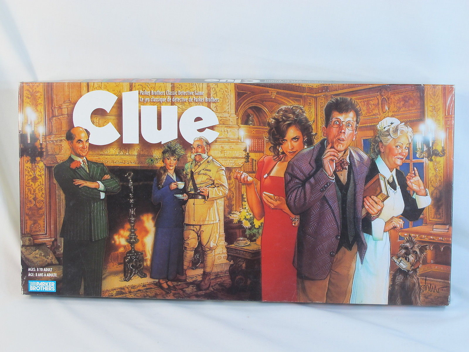 Clue Classic Detective Board Game Parker Brothers