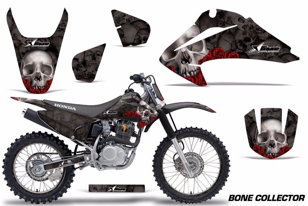 Graphics Kit Decal Wrap + # Plates For Honda CRF150