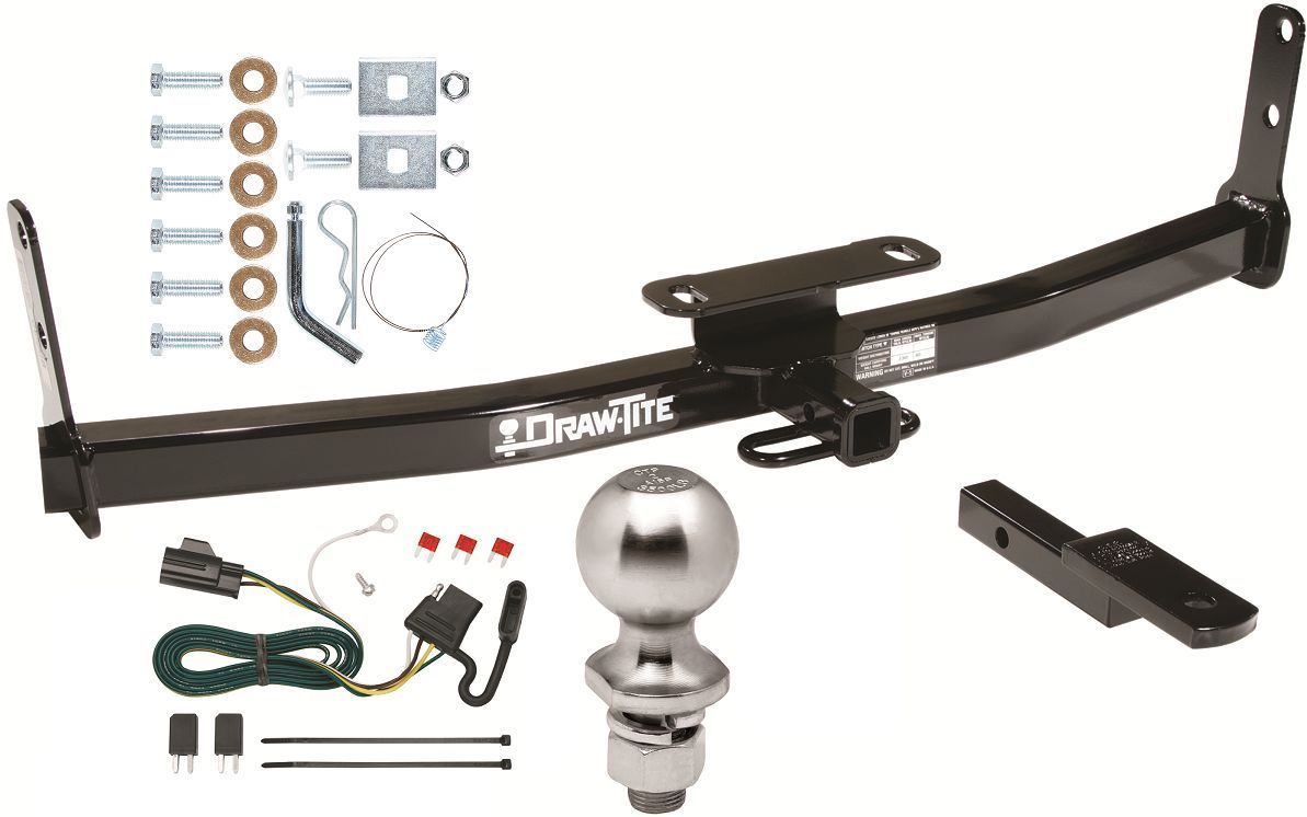 hight resolution of complete trailer hitch pkg w wiring kit for 07 09 chevy equinox pontiac torrent 186 12