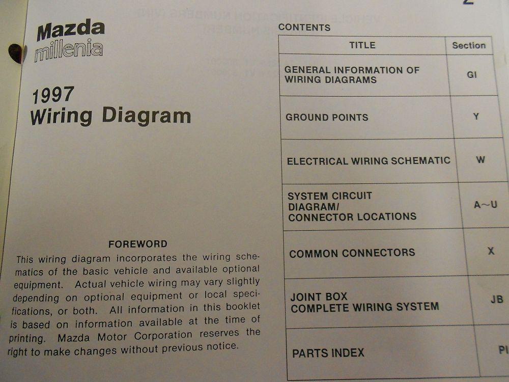 medium resolution of 1997 mazda millenia service repair shop manual huge set factory oem books 97