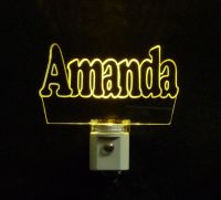 Personalized LED Name Night Light - Lamp, Kids - Night Lights
