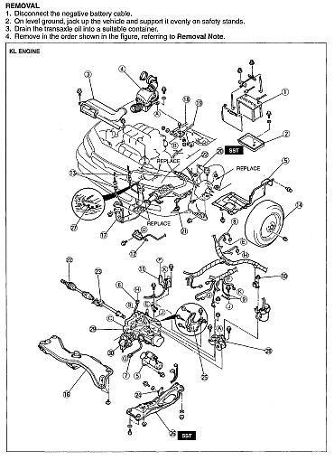 MAZDA MX-6 MX6 1993 1994 1995 1996 1997 ULTIMATE FACTORY