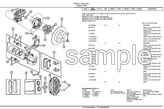 2008 CHRYSLER VOYAGER DIESEL RT OEM SERVICE REPAIR PARTS