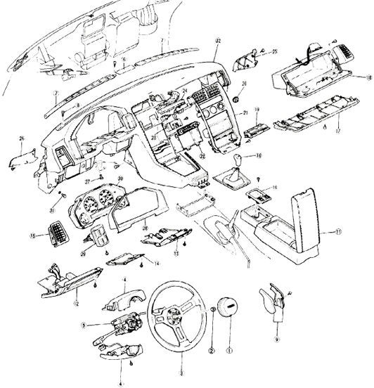 MAZDA RX7 RX-7 1981 1982 1983 1984 1985 FB SERVICE REPAIR