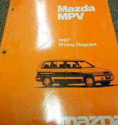 1997 mazda mpv van electrical wiring diagram service repair shop manual 97 17 77 [ 1600 x 1200 Pixel ]
