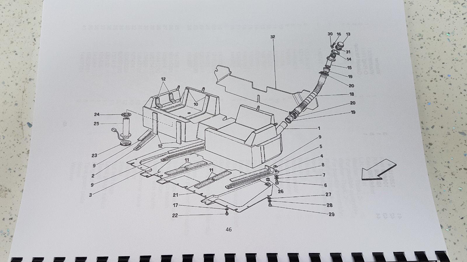 hight resolution of ferrari mondial t cabriolet parts manual reprinted