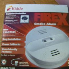 Kidde Smoke Alarm Wiring Diagram Chevy 350 Nos Firex Pi2010 120v Ac Wire In