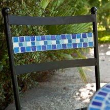 Bistro Set Patio Table Chairs Mosaic Tile Garden Deck