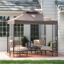 Gazebo Canopy Patio Sun Shade Outdoor Furniture