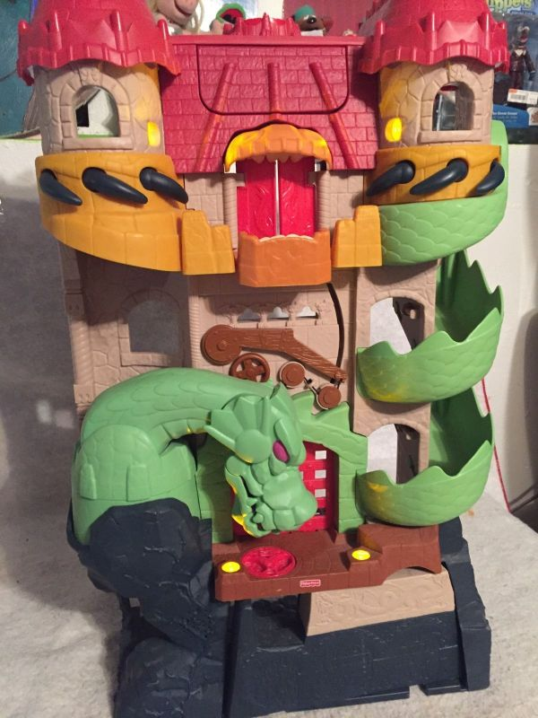 Imaginext Dragon Castle Fortress Knight And 50 Similar Items