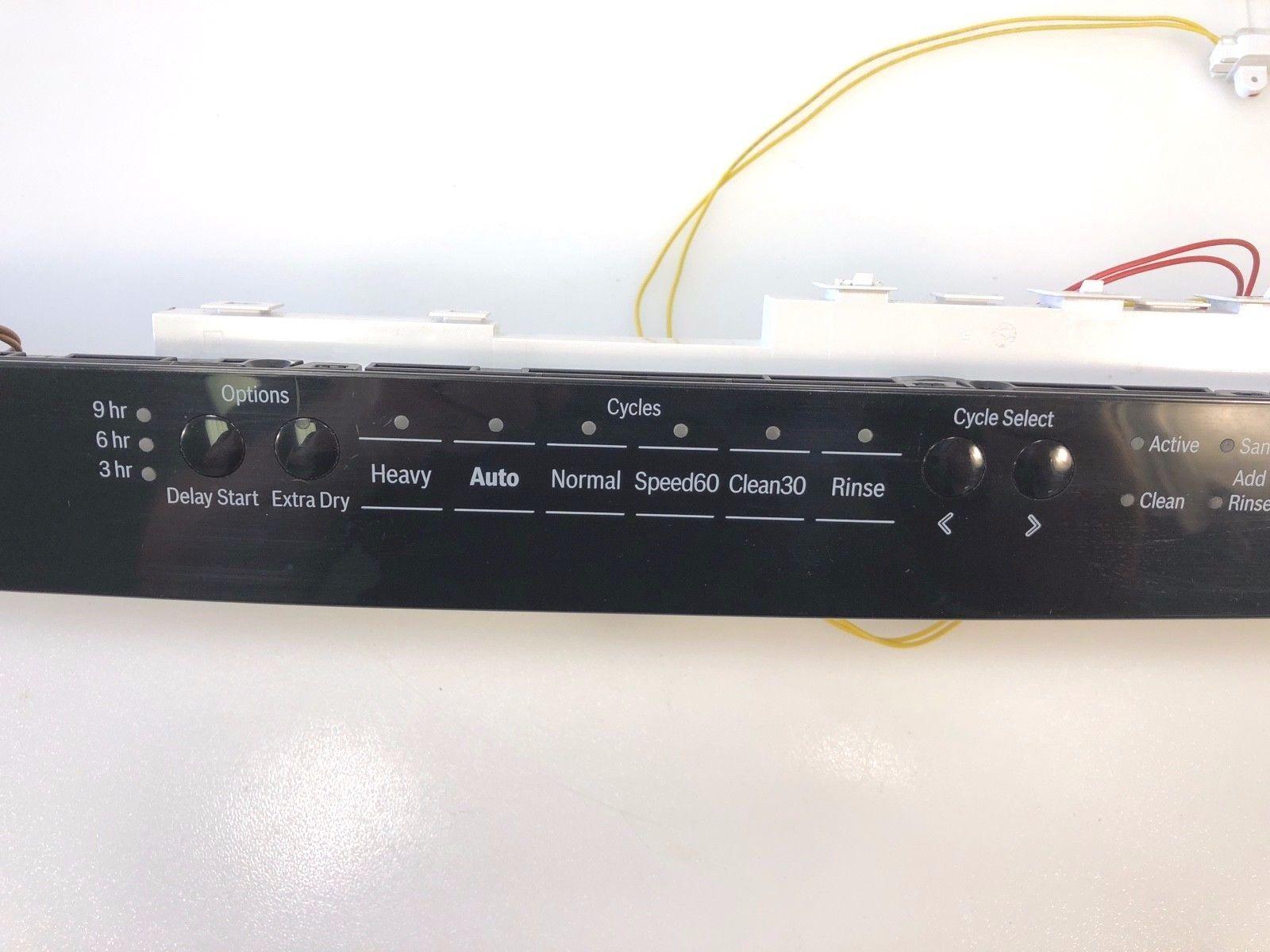 hight resolution of bosch dishwasher control panel w board 9001099416