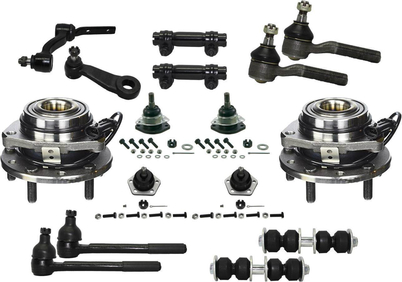 New 16 Piece Front Suspension Package Fits Chevrolet