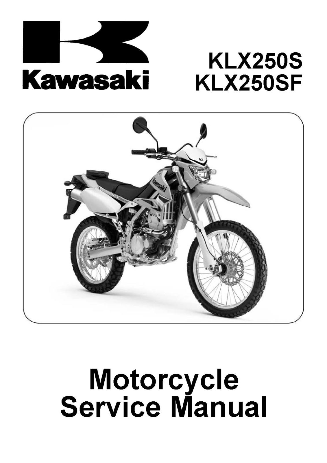 Kawasaki Klx110 Klx110 Full Service Repair Manual 2002