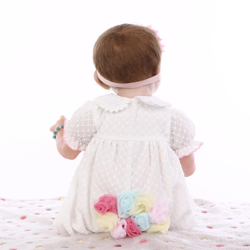 Silicone Lifelike Sleep Baby Reborn Doll Girl Alive ...