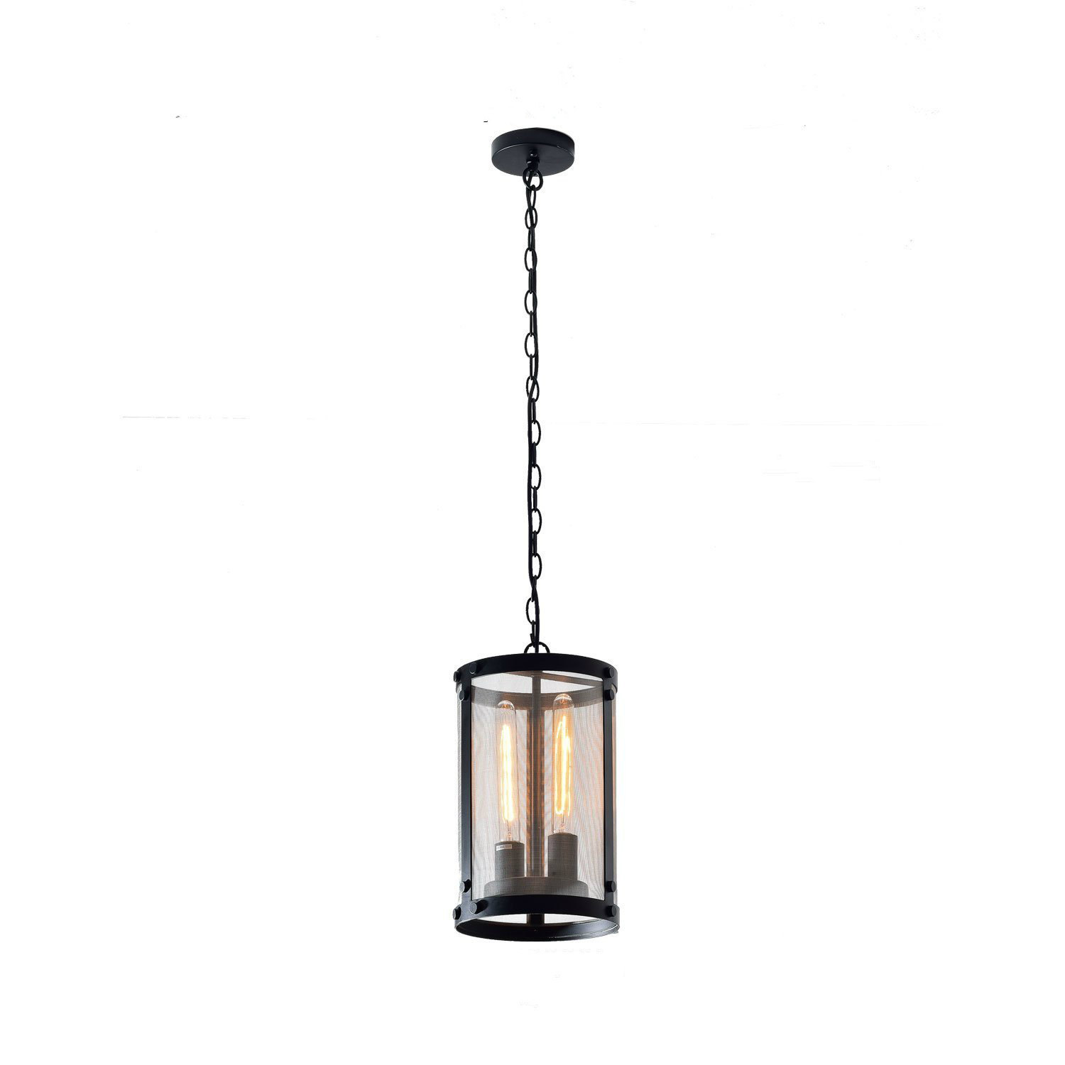 Vintage Black Industrial Pendant Light Chandelier Lighting