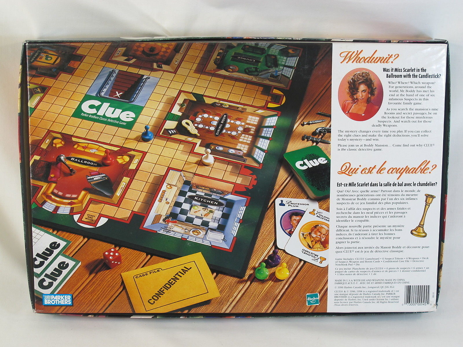 Clue Classic Detective Board Game And 18 Similar Items