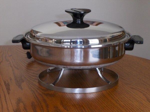 Stainless Steel Electric Fry Pan