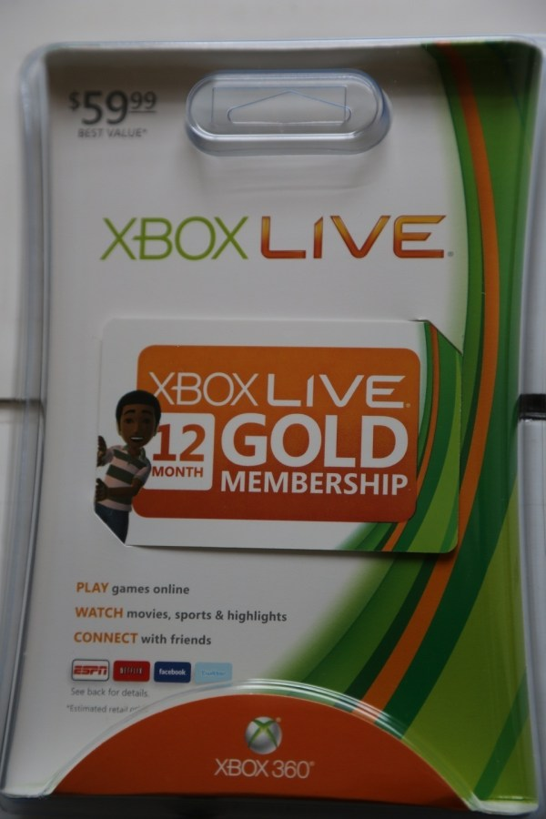 Xbox Live 12 Month Gold Membership Codes