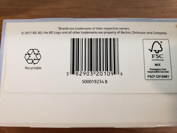 Bd Ultra-fine Pen Needles Mini 5mm X 31g Penta Point