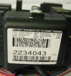 volvo s80 2002 trunk fuse box relay ecm box panel oem 2234043 [ 1600 x 1200 Pixel ]