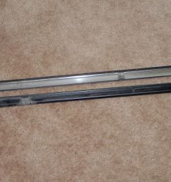 92 96 lexus es300 rocker panel molding under door lower sill trim left and right [ 1600 x 1200 Pixel ]