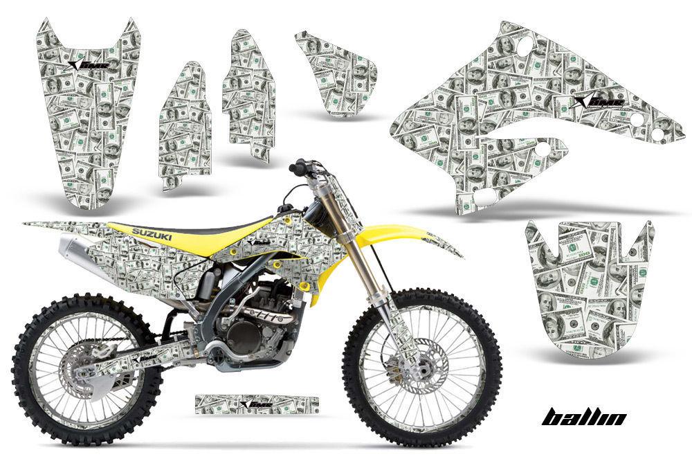Graphics Kit Decal Sticker Wrap + # Plates For Suzuki