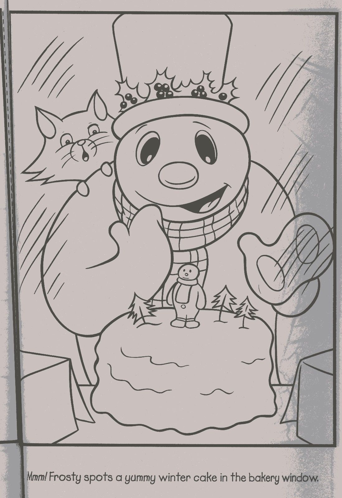 Frosty The Snowman Style1 Christmas Coloring Book Stocking