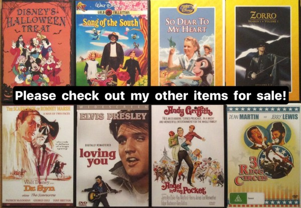 Walt Disney Song of the South DVD