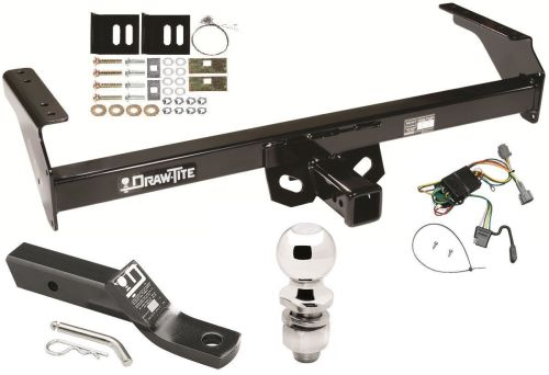 small resolution of complete trailer hitch package w wiring kit for 1998 2004 nissan frontier new 252 40
