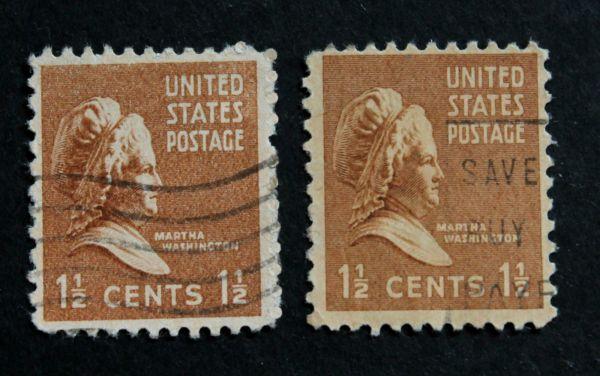 Martha Washington 1 Cent Stamp Value