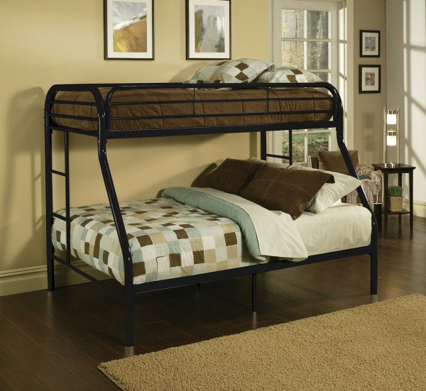 Metal Twin Over Full Bunk Beds