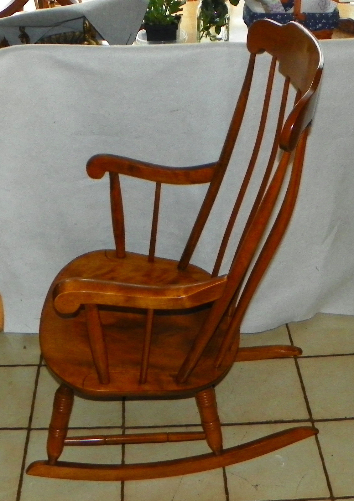 maple rocking chair headstand boston rocker by nichols and stone bm