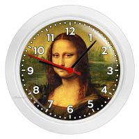 MONA LISA LEONARDO DA VINCI PAINTING WALL CLOCK LIVING