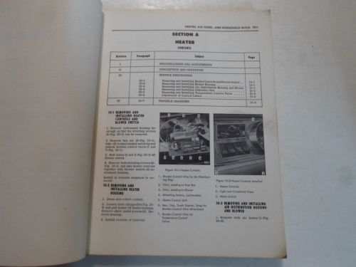 small resolution of 1966 opel kadett service shop repair manual stained damaged factory oem book 66