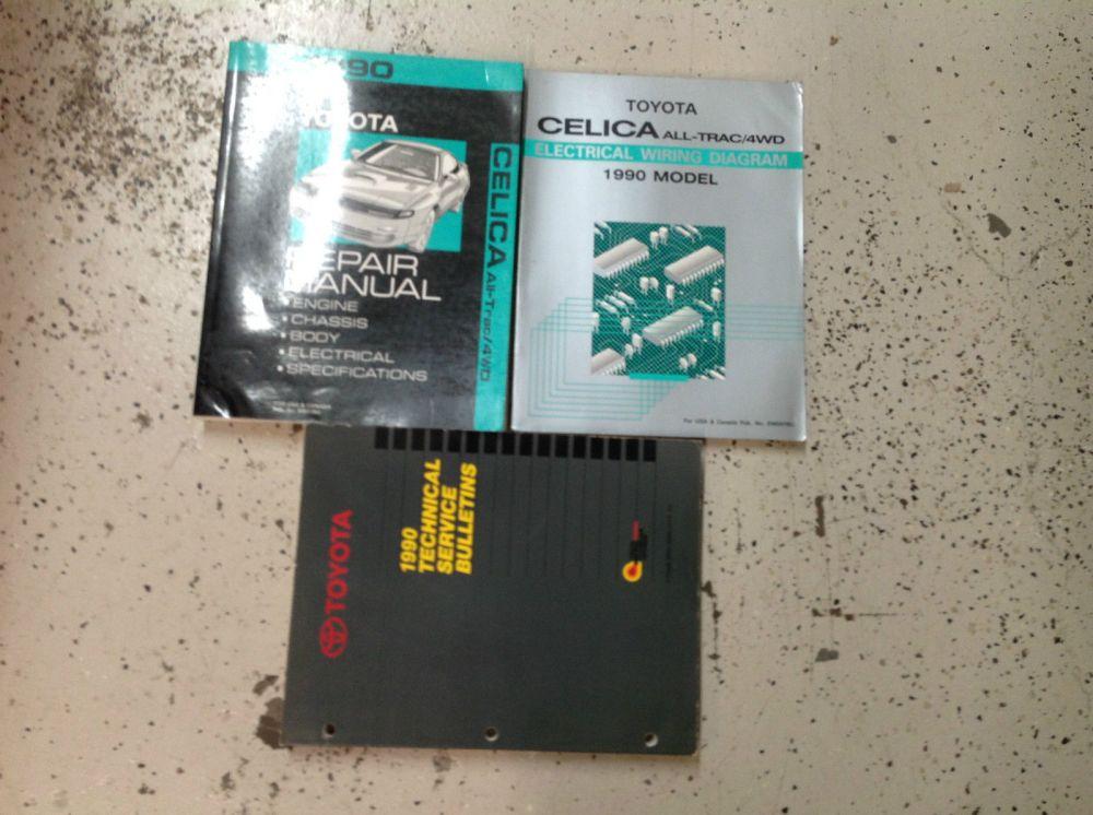 medium resolution of 1997 toyota celica service repair shop manual set oem w wiring diagram book manuals literature