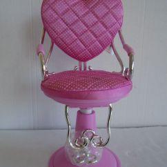 Doll Salon Chair Mac Sports Pink Battat Adjustable 18 Quot For American Girl
