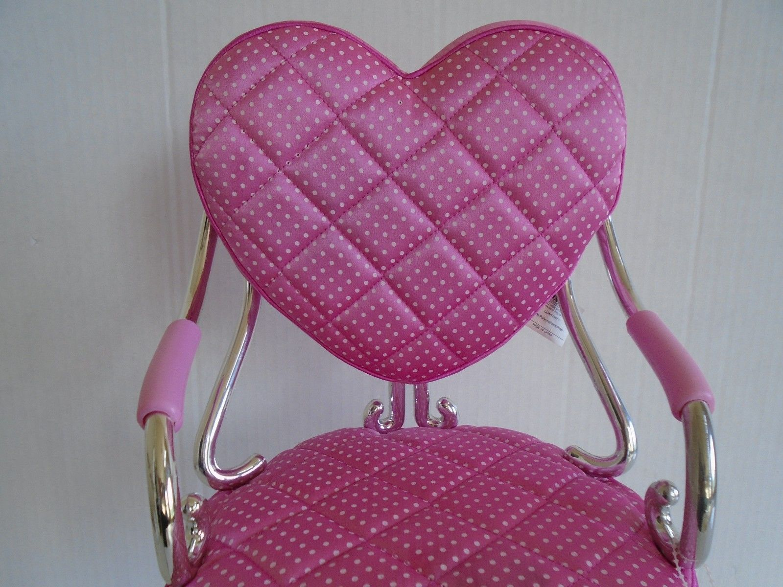doll salon chair used computer chairs pink battat adjustable 18 quot for american girl