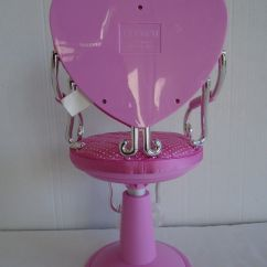 Doll Salon Chair Lime Green Covers Pink Battat Adjustable 18 Quot For American Girl