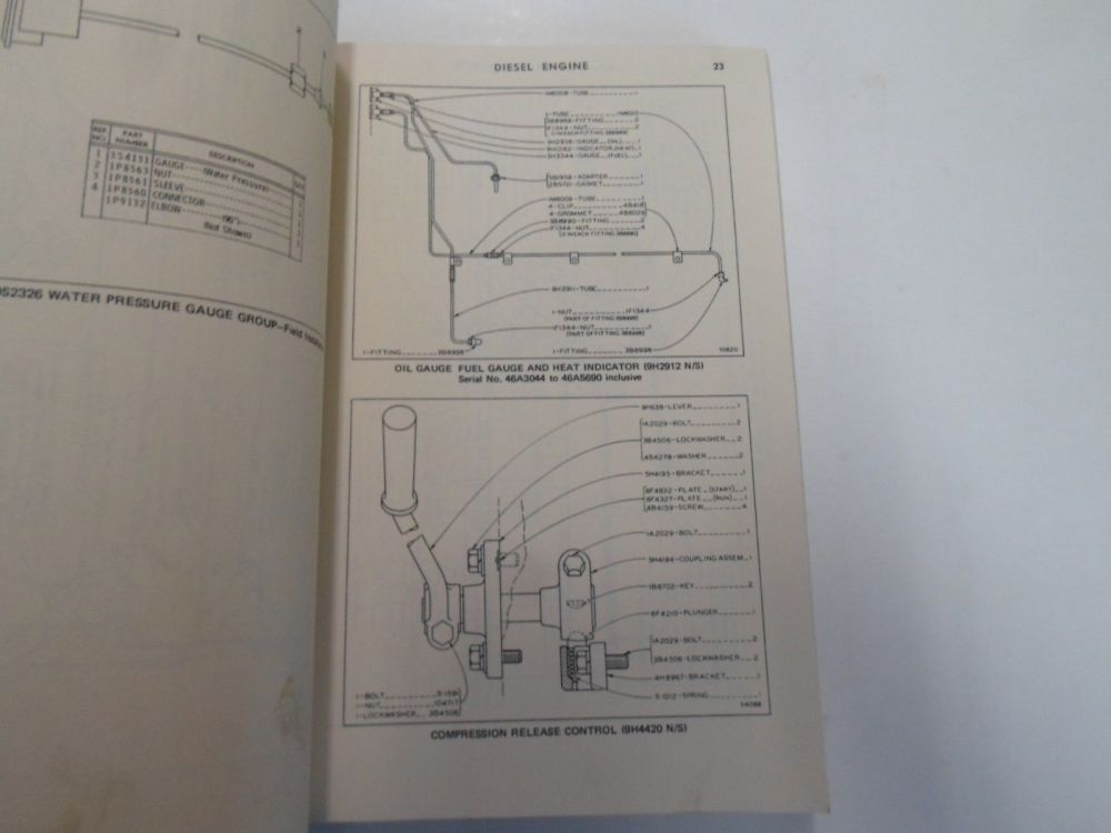 medium resolution of caterpillar d8 tractor power shift parts book manual 46a3044 to 46a10724 stain