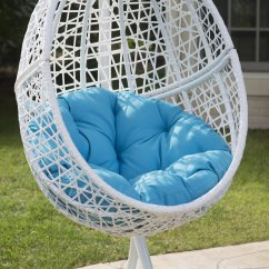 Egg Swing Chair Wheelchair Van Parts Hanging Stand Pool Cushion Deck Patio Seat