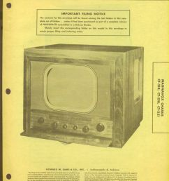 1949 photofact 26 page folder magnavox tv with diagrams and schematics 9 89 [ 1153 x 1500 Pixel ]