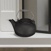 Fireplace Kettle Humidifier Cast Iron Pot Steamer 3 Quart ...